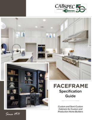 CabSpec Faceframe Spec Book Cover